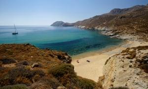 South bay of Serifos Island