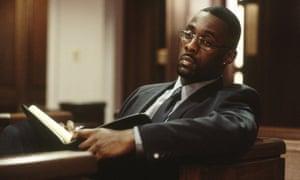 Idris Elba in The Wire.