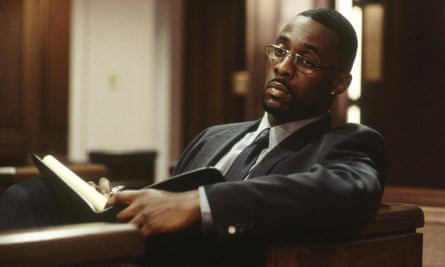 "Elba as Russell ""Stringer"" Bell in HBO's The Wire."