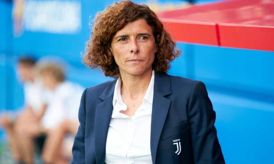 Juventus head coach Rita Guarino