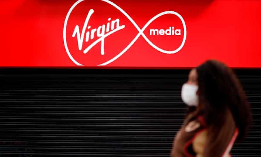 Virgin Media store in London
