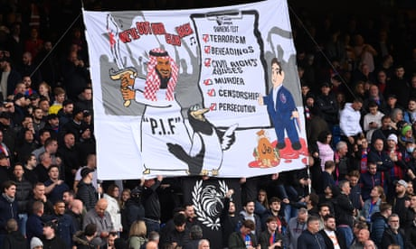 Protests, humour and blood money: the new normal for Newcastle fans   Paul MacInnes