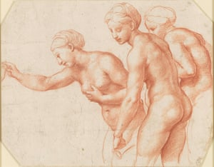 The Three Graces, circa 1517-18, by Raphael.
