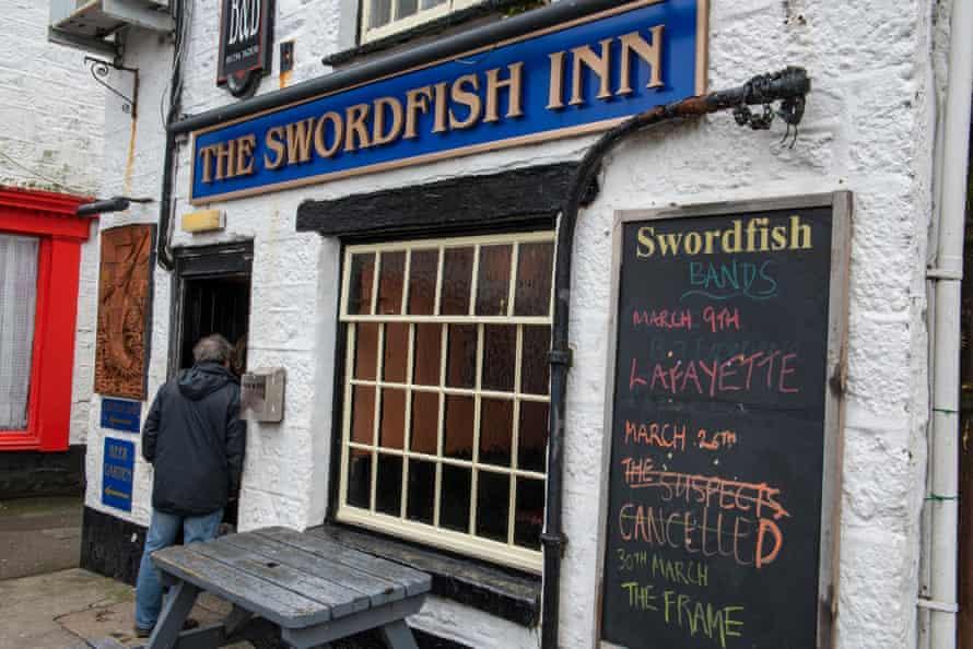 the swordfish inn at newlyn