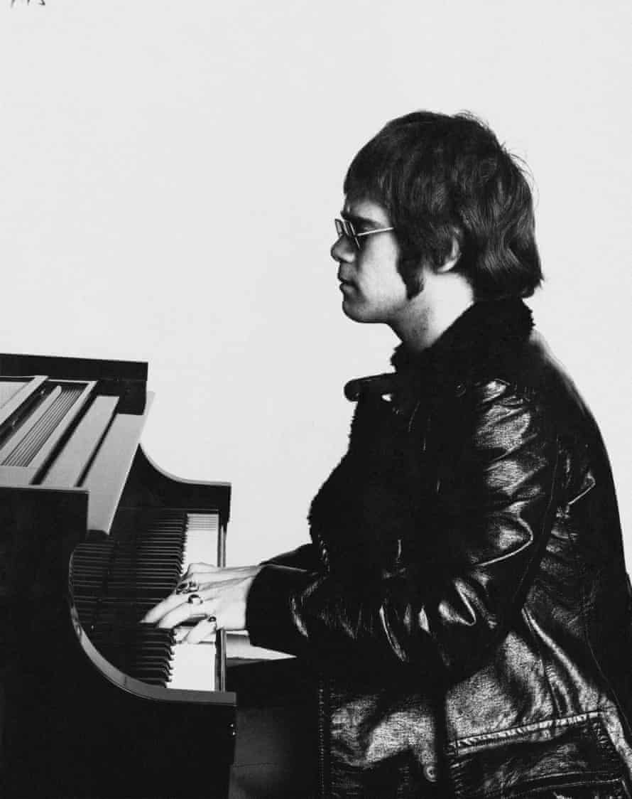 'When I get home, the last thing I want to do is play the piano' … John, 1971.