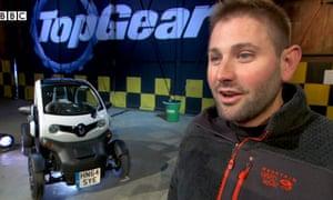 Top Gear producer Oisin Tymon.