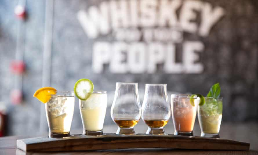 Cocktails, especially in high-end bars, are a big part of the American whiskey renaissance.