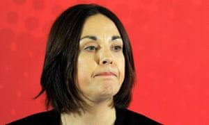 Former Scottish Labour leader Kezia Dugdale
