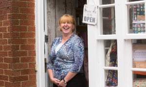Allison Taylor, a gift shop worker in Ampthill.