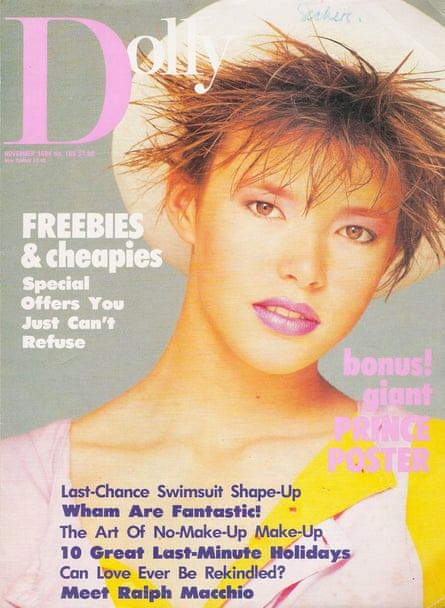 Dolly magazine in 1984.