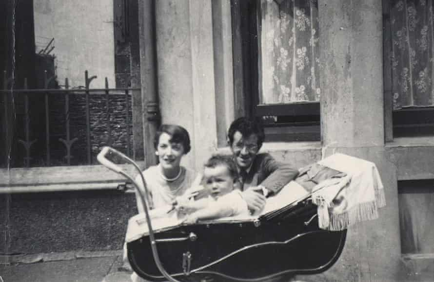 An infant Elvis Costello – then still Declan MacManus – with his parents.