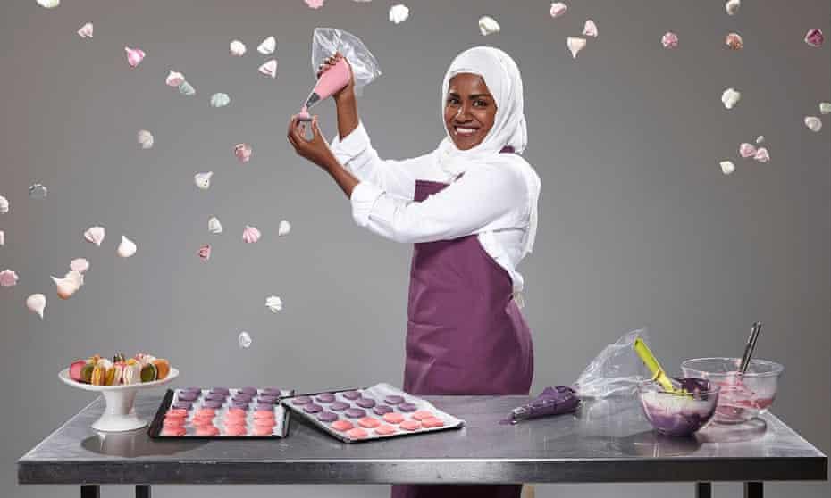 The Great British Bake Off semi-finalist Nadiya Jamir Hussain