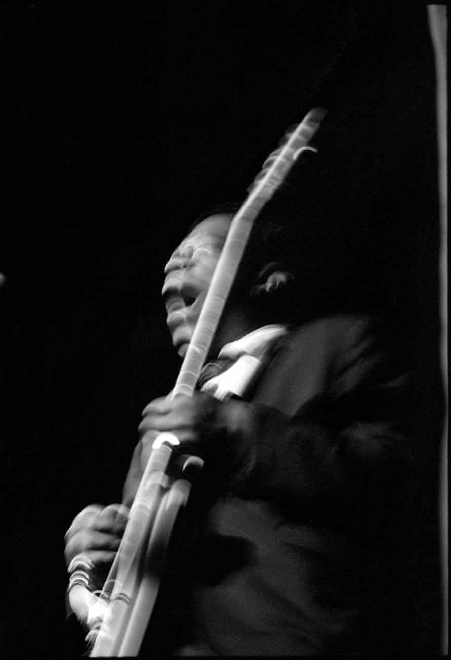BB King at Fillmore East in 1968