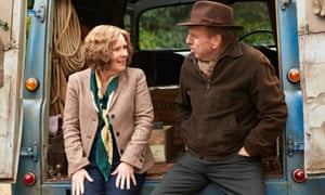 Imelda Staunton and Timothy Spall in Finding Your Feet.