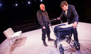 Chris Corrigan and Stephen Rea in Cyprus Avenue at the Royal Court.