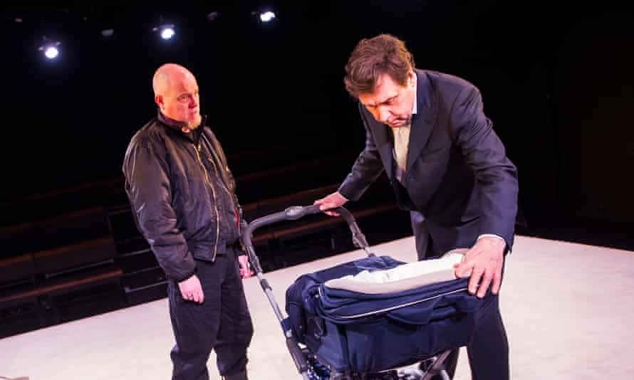 'Tremendous' Stephen Rea, right, with Chris Corrigan in Cyprus Avenue at the Royal Court.