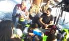 Child dies as migrant boat