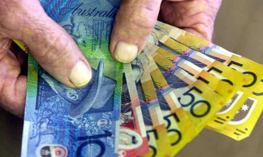 $300 in the hands of a pensioner