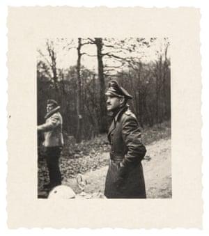 Adolf Galland on a hunting trip, 1940