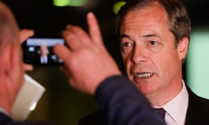 The Opinium poll suggests more than a third of voters will back Nigel Farage's party on 23 May