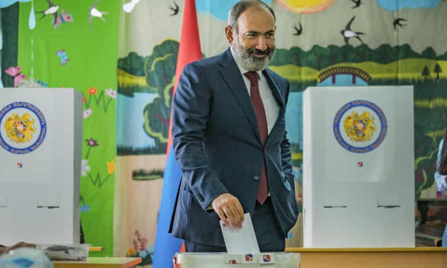 Nikol Pashinyan has claimed victory in the parliamentary elections of Armenia