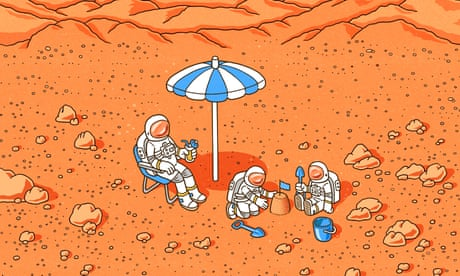 Mars is lovely at this time of year: futurists imagine life in 2050