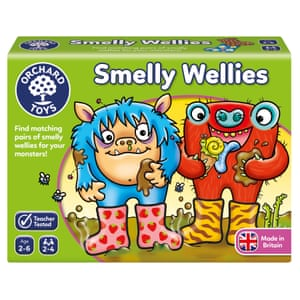 Smelly Wellies Box Orchard toys