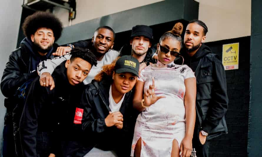 From left: FOS; Kiico; RansomFA; Unknown Smooth; Chade; Lady Ice; J Lucia