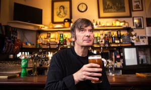 Ian Rankin in the Oxford Bar in Edinburgh in 2018.
