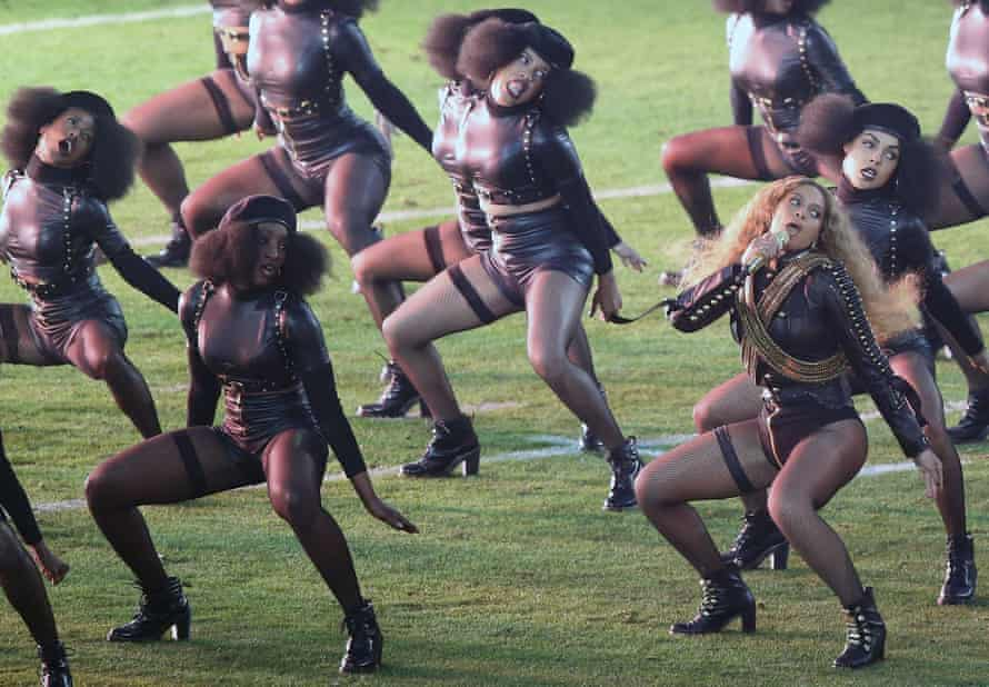Beyoncé's performance at the 2016 Superbowl called out police brutality, leading to threats of lynching.