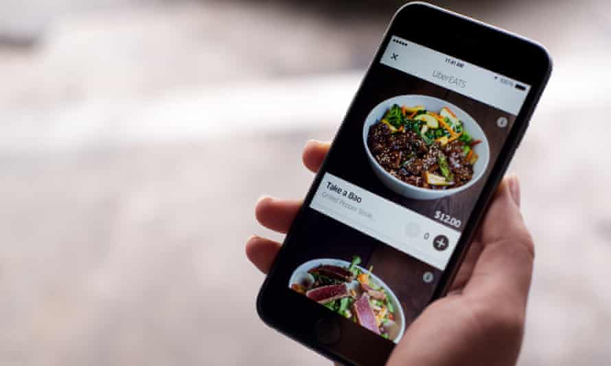 UberEats: bringing local restaurants straight to your desk.