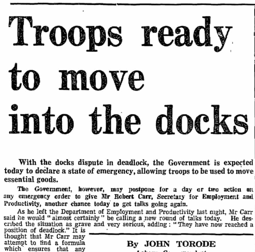 The Guardian, 16 July 1970.