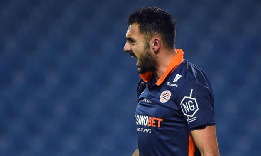 Montpellier's French forward Gaëtan Laborde