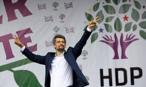 Garo Paylan, one of the HDP's newly elected MPs in Turkey