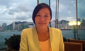 Hong Kong legislator and veteran pro-Beijing lawmaker, Priscilla Leung.