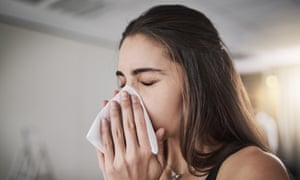 'If you work in a polluted environment, blowing your nose is a way of clearing out mucus that has collected debris and pollutants from the atmosphere.'