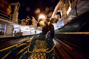 Good fisheries management relies on solid data and there's no substitute for sampling. Norway's Institute of Marine Research uses test trawls a fraction the size of their commercial cousins to examine the Barents Sea each year.
