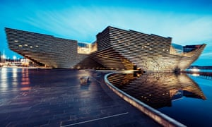 'Like encountering the ribbed carcass of a beached whale' … the V&A Dundee, designed by Kengo Kuma.