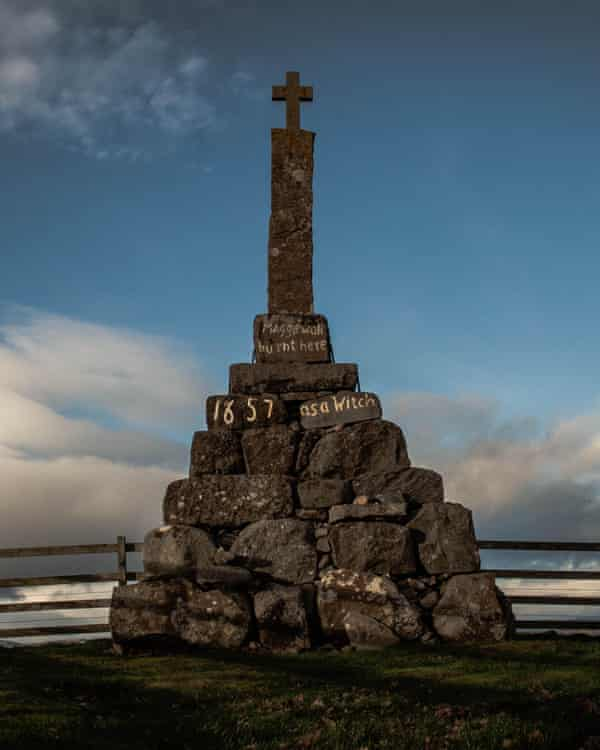 Maggie Wall Memorial, Dunning, Perthshire, remembering a 17th-century witch hunt victim.
