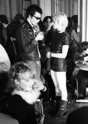 Sid Vicious with Vivienne Westwood in 1976