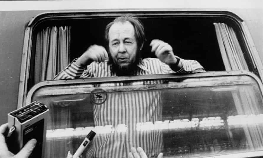 Alexander Solzhenitsyn arrives in Zurich after being deprived of his Soviet citizenship following the publication of The Gulag Archipelago.