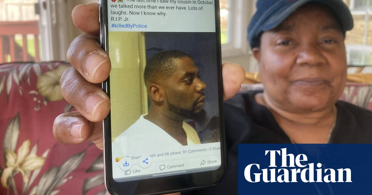 'He was like a comedian': Andrew Brown's aunt pays tribute after fatal shooting by police – video