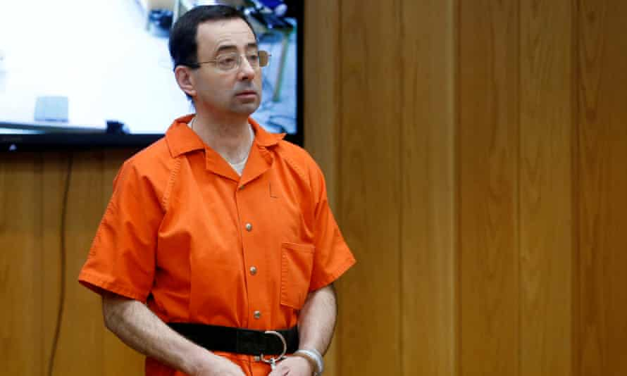 Larry Nassar was given an effective life sentence for his crimes