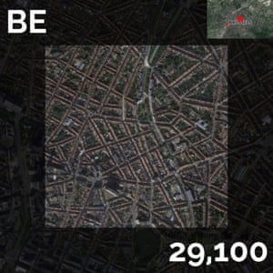 BE - brussels - map