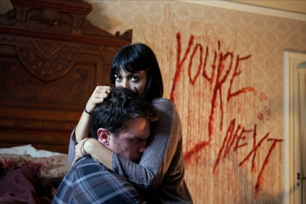 Nicholas Tucci and Wendy Glenn in You're Next from 2011.