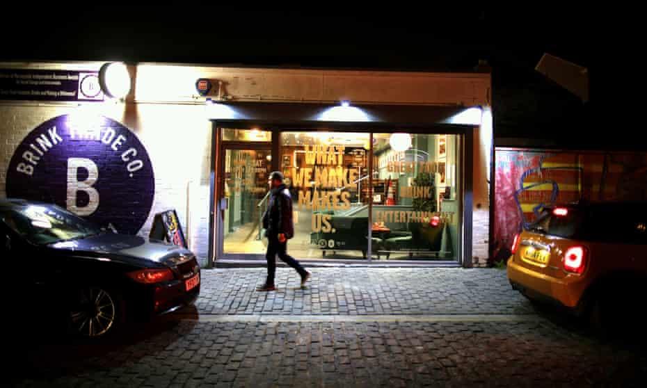 Brink bar in Liverpool