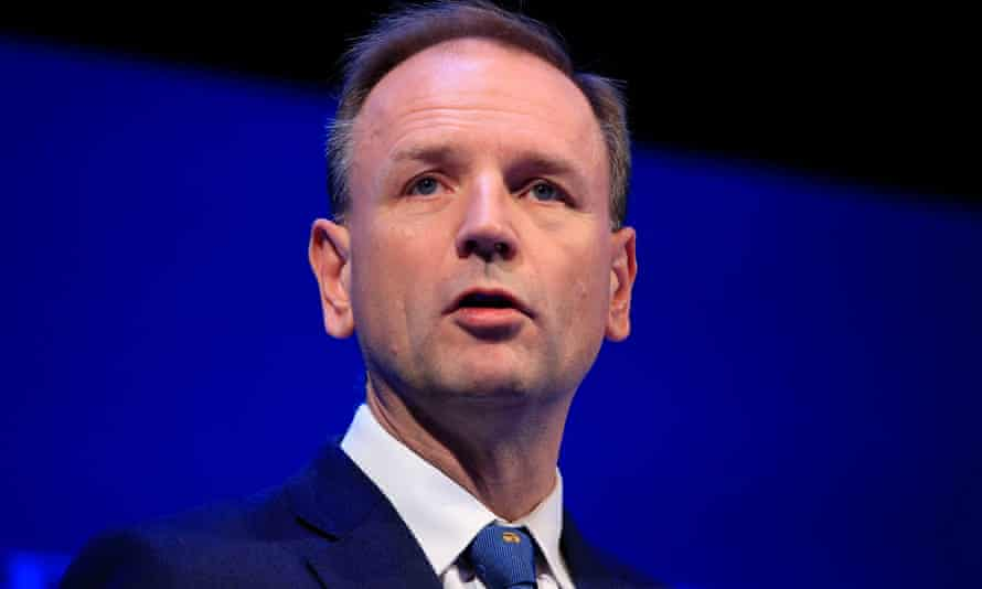 Simon Stevens, CEO of NHS England, who publicly disagreed with May