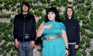 'Waaaaaah!' …Nathan Howdeshell, Beth Ditto and Hannah Billie.
