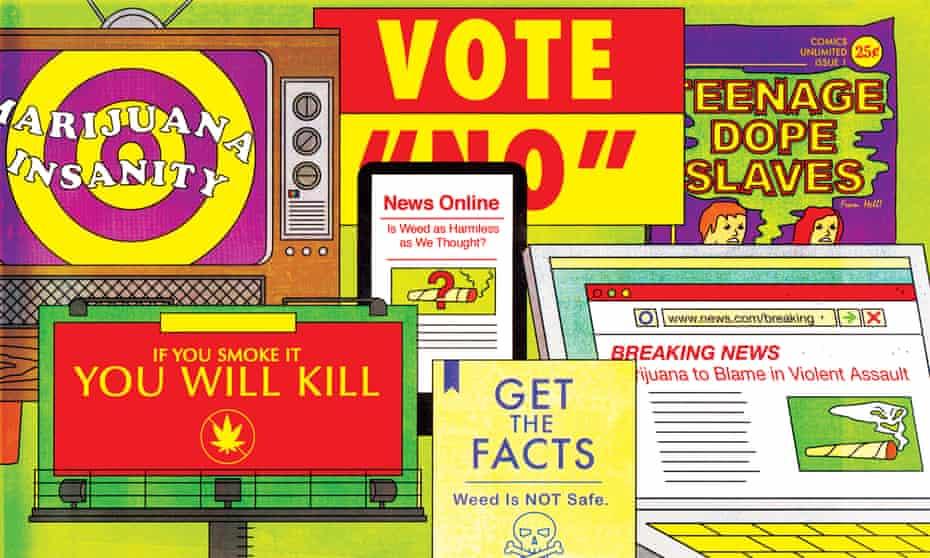 marijuana warnings illustration