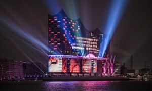 Ark ascending … Hamburg's Elbphilharmonie.